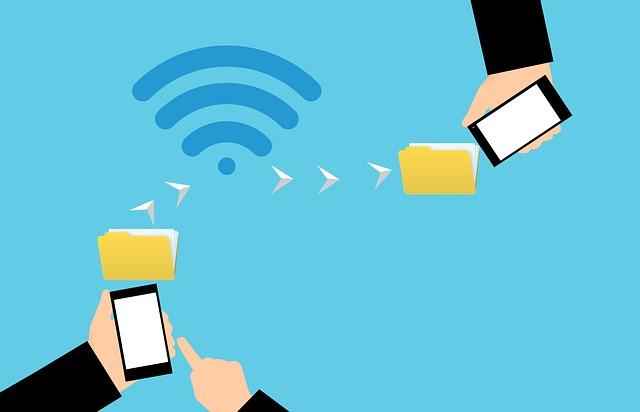 mobile phone send a file